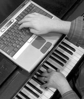 Piano Laptop