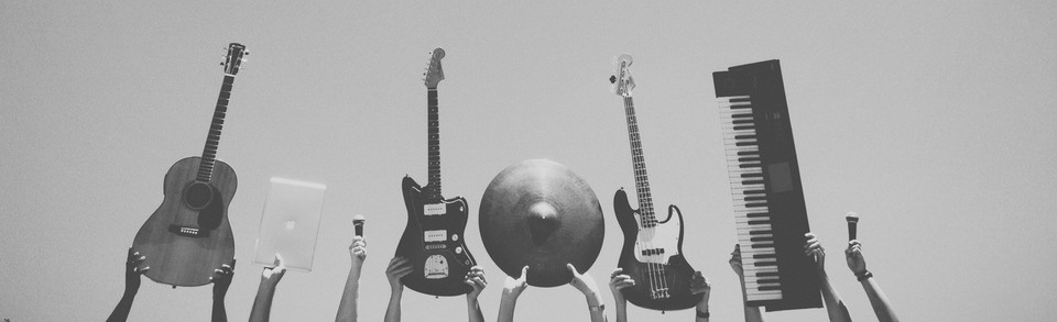Music band with iPad